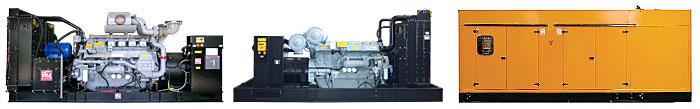 Дизель-генераторные установки серии MegaFull большой и сверхбольшой мощности